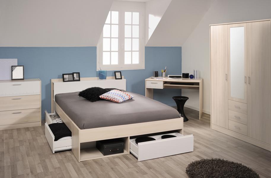 Parisot charly soverom skrivebord for Jugendzimmer utah