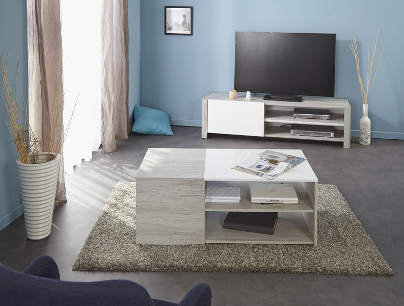 parisot luneo salongbord. Black Bedroom Furniture Sets. Home Design Ideas