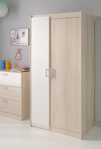 Forskjellige Charly Barne 2 Dørs Garderobe - Franskemobler.no SZ-06